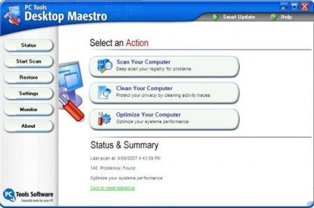 PC Tools Desktop Maestro v3.1.0.232