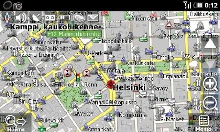 Навител - карты Европы от OpenStreetMap