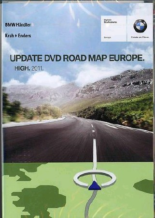 BMW Navigation [ DVD, Road, Map, Europe, HIGH, 2011 ]