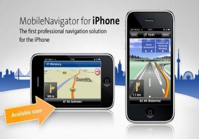 NAVIGON MobileNavigator Europe [ iPhone, v.1.8 (Оригинал) 2011 ]