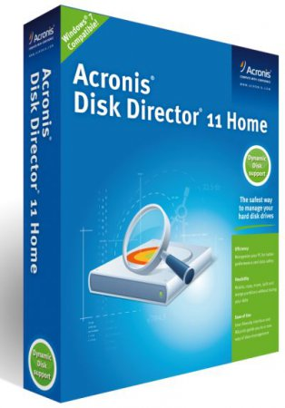 Acronis Disk Director Server v.10.0.2169/Тихая установка/Unattended + Boot CD (x32/x64/RUS)