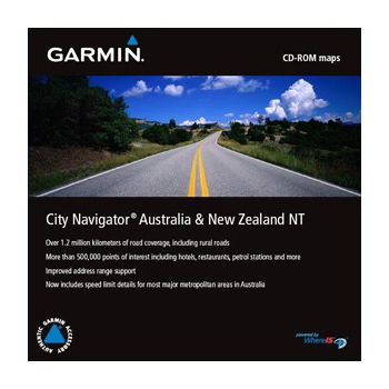 Garmin - City Navigator Australia and New Zealand NT [ v.2012.30, Mapsource + IMG, 2011 ]