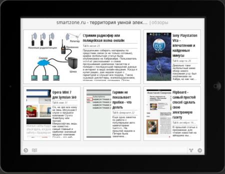 Спецверсия сайта smartZone.ru для iOS и Android через Google Медиа