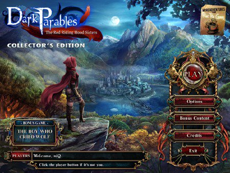 Dark Parables 4: The Red Riding Hood Sisters Collector's Edition (2012/ENG)