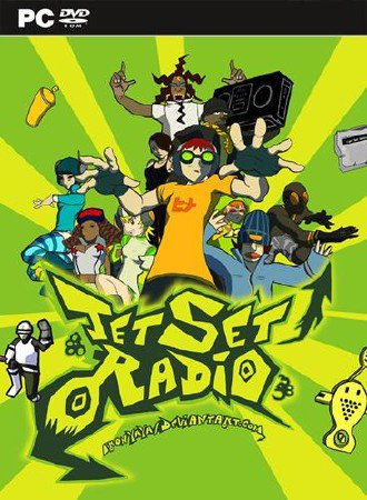 Jet Set Radio HD (2012/ENG/MULTi4)