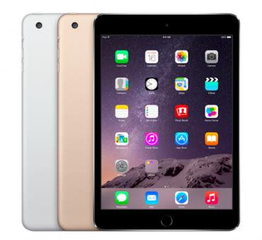 apple iPad mini 3 - 100 баксов за сенсор отпечатка пальцев