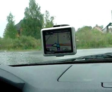 """Видео демонстрация голоса """"Катерина"""" для навигатора Garmin nuvi 1250"""