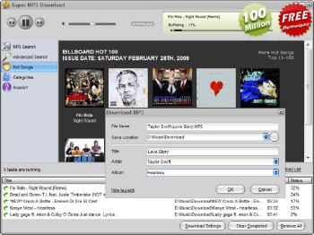 Super MP3 Download 4.5.9.8