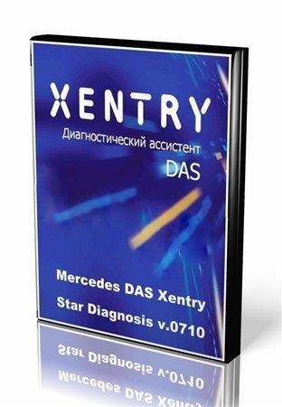 Mercedes DAS Xentry - Star Diagnosis v.0710 (2010/Multi + RUS)