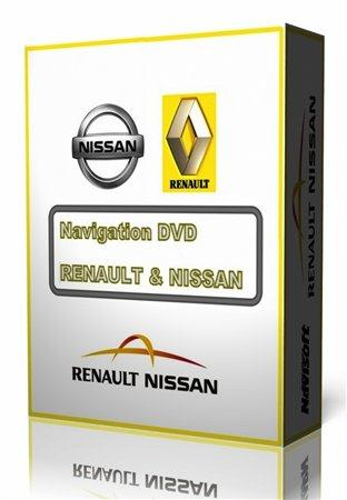 Navigation DVD – RENAULT/NISSAN v.30 [Europe Map] (2010-2011)