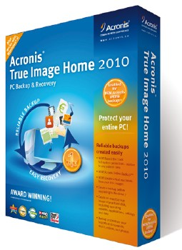 Acronis True Image Home 2010 13.0.0 Build 7160 Russian + BootCD & Plus Pack