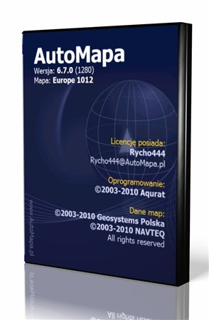 AutoMapa – ver.6.7.0 FINAL [Europe/Russia] (2011/Multi/RUS)