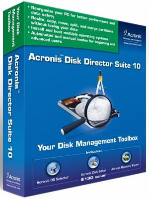 Acronis Disk Director SERVER 10.0.2169 Rus + BOOT ISO