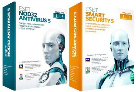 ESET NOD32 AntiVirus / Smart Security 5.0.93.15 X86/X64 RePack AIO by SPecialiST