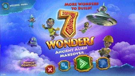 7 Wonders 5: Ancient Alien Makeover / 7 Чудес света 5 v.1.0 (2012/ENG)
